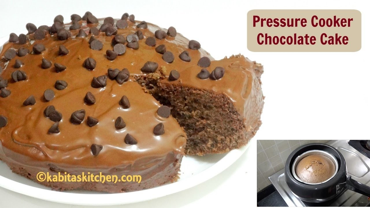 How to make cake in pressure cooker for How to make home cake without oven