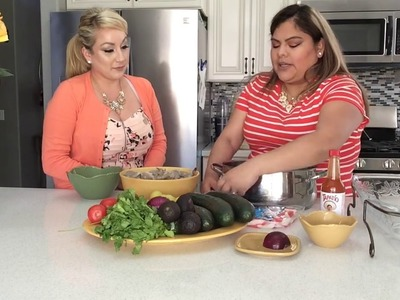 How to make Ceviche with Shrimp and Imitation Crab