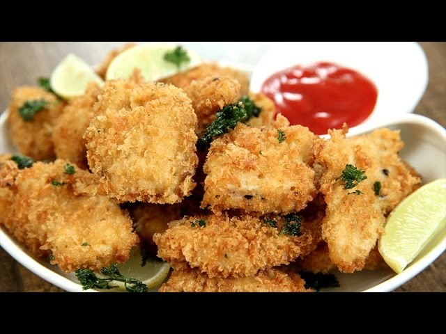 How To Make Chicken Nuggets   Crispy Chicken Nuggets Recipe   IPL Special Starter   Varun Inamdar