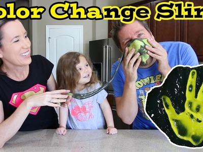 How To Make Color Change Slime