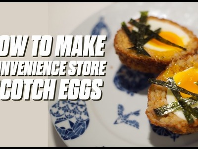How To Make Convenience Store Scotch Egg - Chefs In Convenience - Ep 6 - Lennard Yeong
