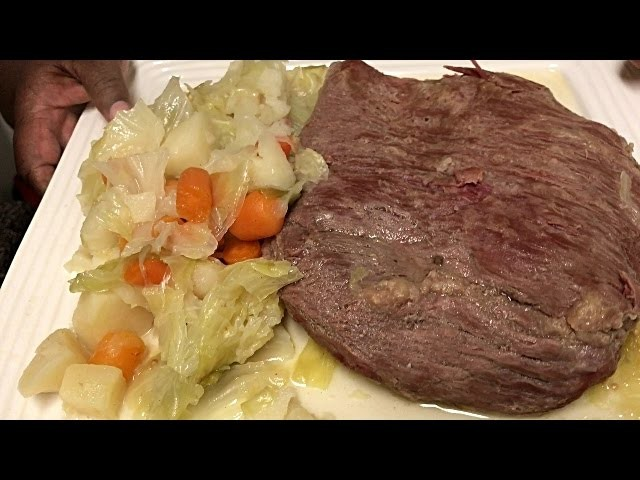 How To Make CornBeef And Cabbage