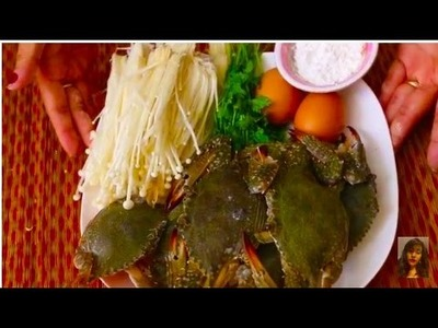 How To Make Crabs Soup, Healthy Family Soup