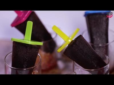 How To Make Easy Kala Khatta Popsicles - POPxo Food
