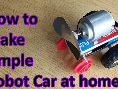 How to make easy robot car at home, build your own robot car, robot robot