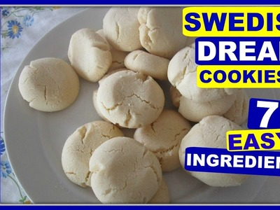 How To Make Easy Swedish Dream Cookies ????Drömmar