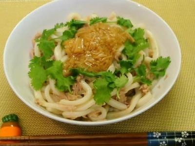 How to make Easy Udon dish (No Talk No BGM 37)