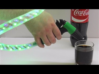 How to make Fanta Coca Cola gun with pump