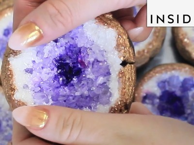 How to Make Geode Cookies