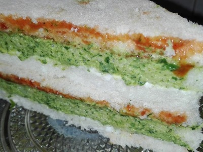 How To Make Green Chutney Sandwich.urdu recipe By AAmna's Kitchen