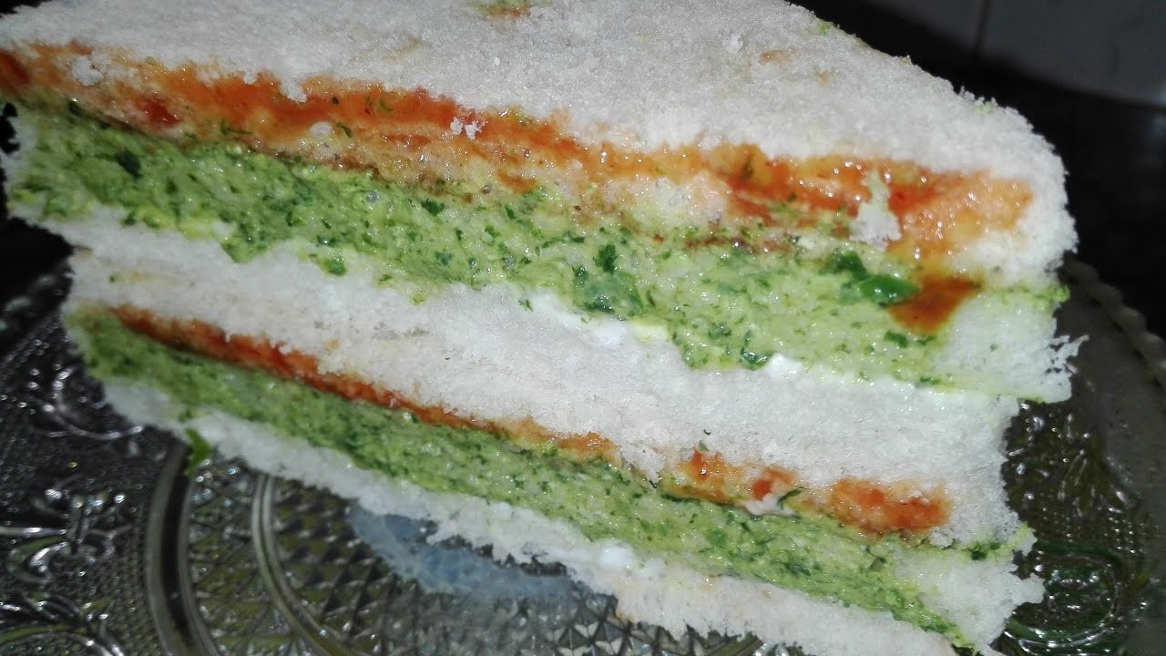 How To Make Green Chutney Sandwich.urdu recipe By AAmna's Kitchen