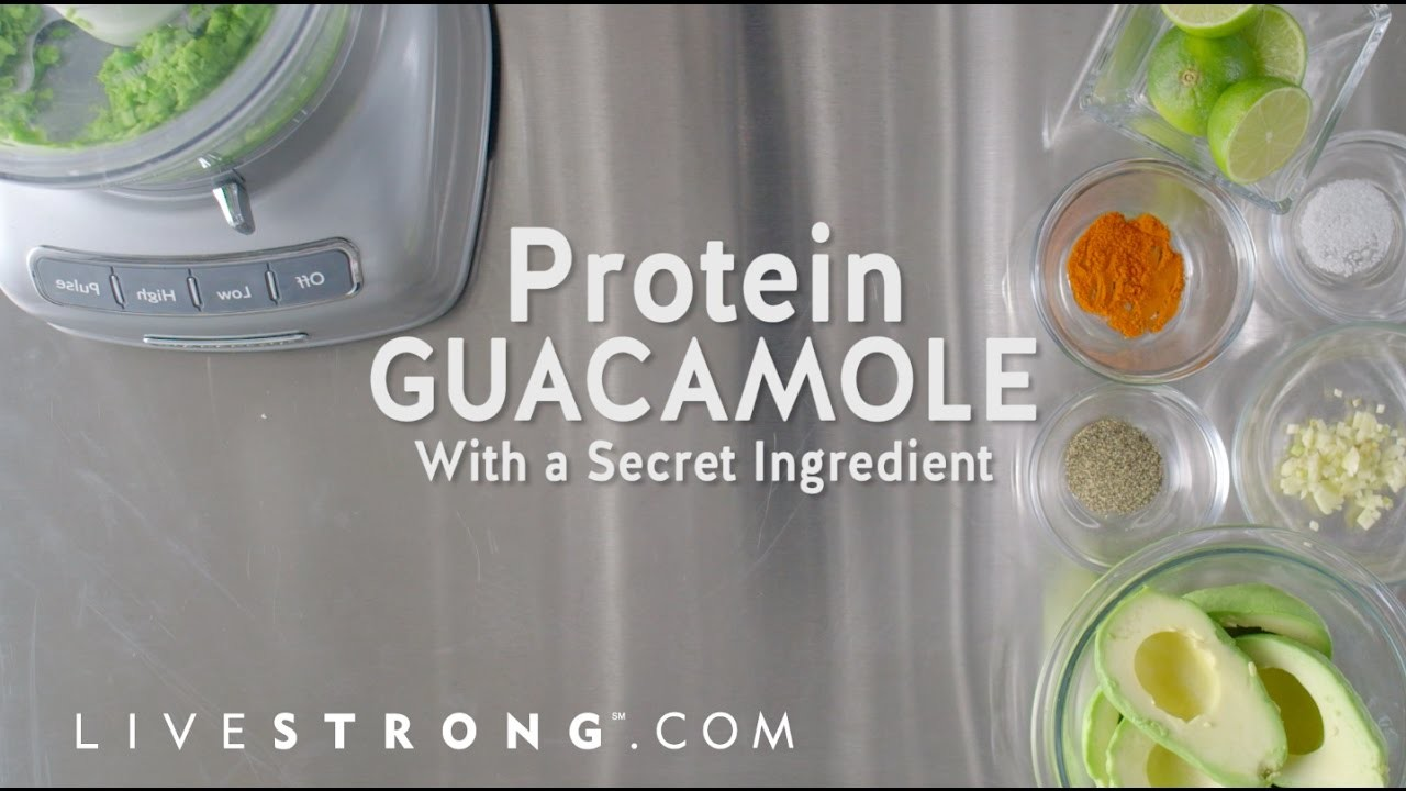 How to Make Guacamole With a Protein Boost