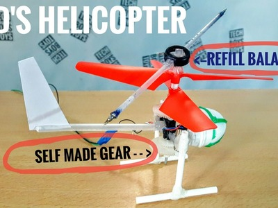 How to make helicopter for kids #DIY gear