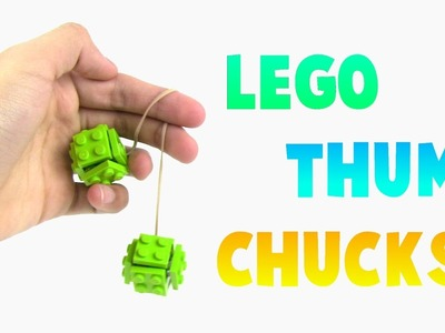 How to Make Lego Thumb Chucks Tutorial (Begleri Fidget Toy Building Instructions)