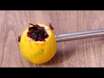 How to make lemon Hookah at home