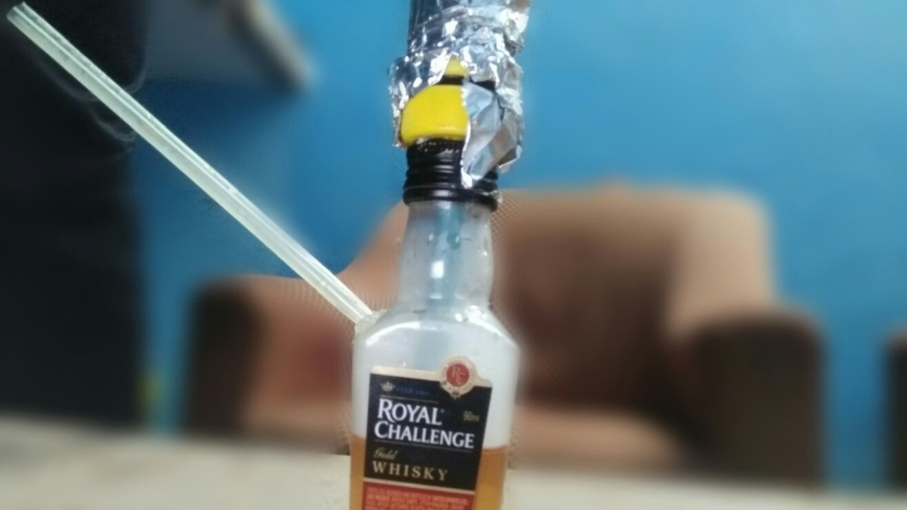 How to Make Mini Hookah At Home