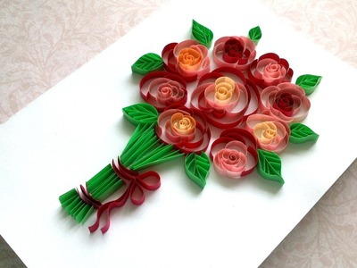 How to Make Mother's Day Сard. Beautiful Greeting Card.