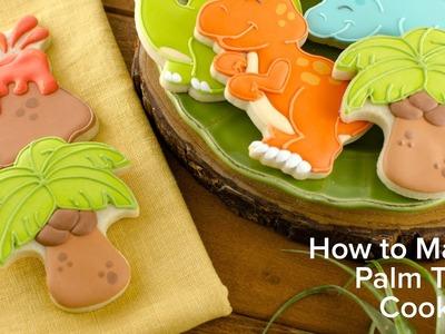 How to Make Palm Tree Cookies