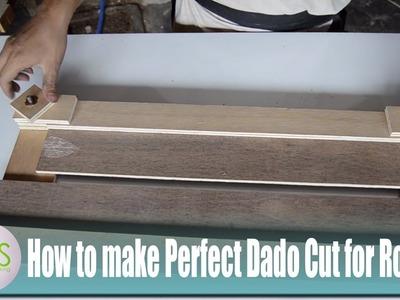 How to Make Perfect Dado Cut JIG