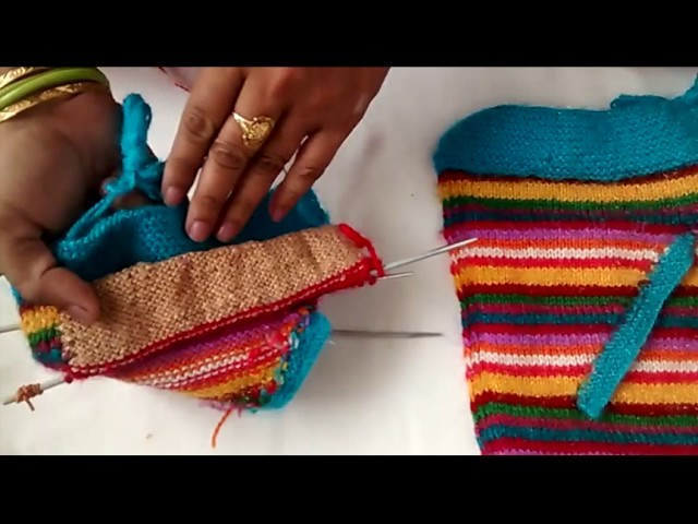 How to make pocket in sweater.cardigan and jacket in hindi