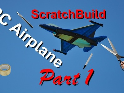 How to make RC Airplane - Part 1. DIY