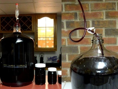 How To Make Red Wine From Grapes:  Subsequent Rackings