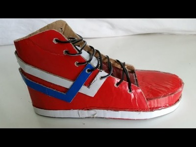 How to Make Shoes out of Cardboard