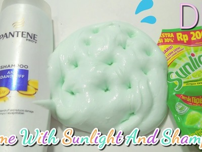 How to make slime with Sunlight And Shampoo - Without borax!