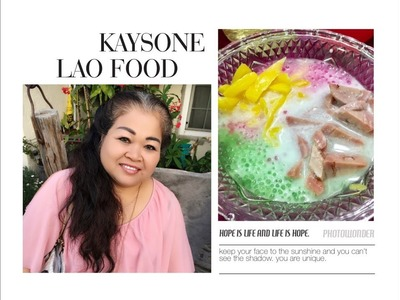 How to make sweet tapioca pearl ນໍ້າຫວານສາຄູ HOME MADE BY KAYSONE