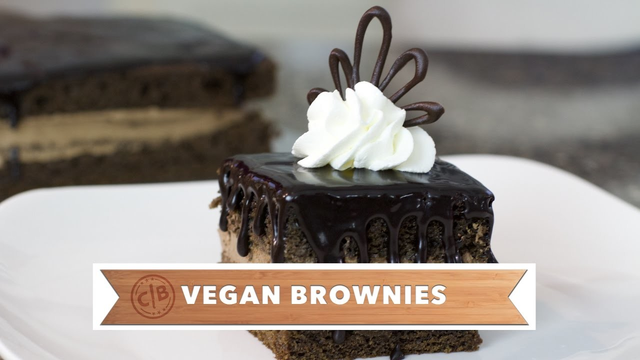 How to Make the BEST VEGAN BROWNIES + A DELICIOUS CAROB CHOCOLATE CAKE 2-in-1!