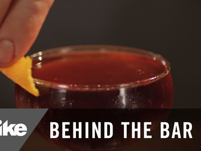 How to Make The Boulevardier 'The Famous Harry's Bar Cocktail' | Behind The Bar