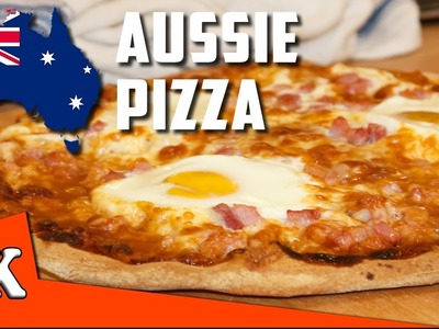 HOW TO MAKE THE PERFECT PIZZA - Egg and Bacon Aussie Pizza ????????