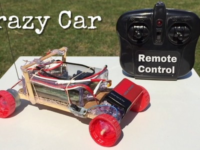 How to Make the Simplest RC Car - Amazing Drift Car