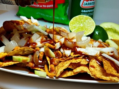 How to make Tostilocos - Mexican Snack Recipe