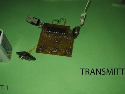 How to make transmitter and receiver || Used In My RC Car || Part-1 || Transmitter