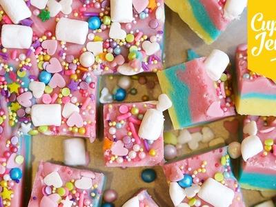 How to Make Unicorn Fudge | Cupcake Jemma
