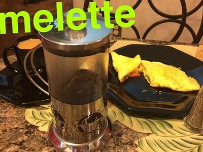 How to Make: Vegetable Egg Yolk Omelette Tutorial
