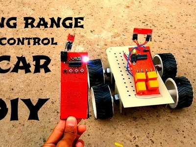 How to make wireless remote for rc car at home DIY