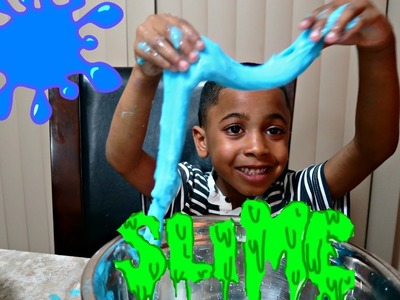 HOW TO MAKE YUCKY GOO SLIME with BORAX!! - Easy Science Experiment for Kids