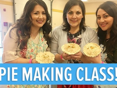LEARNING HOW TO BAKE A PIE | HOW TO MAKE A PIE | That Reyes Family Vlog