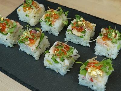 LIVE!! Crawfish Osaka Sushi - How To Make Sushi Series