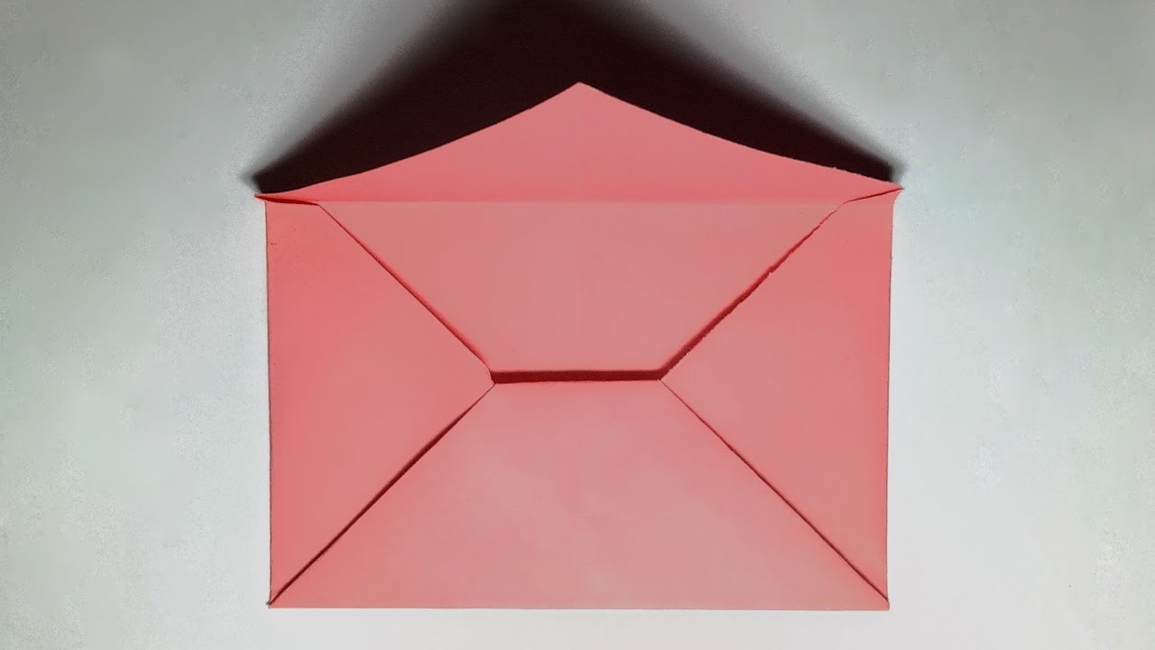 Paper Envelope How To Make A Paper Envelope Without Glue