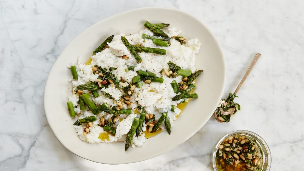 RECIPE | How To Make A Creamy Spring Risotto With Fresh Pesto