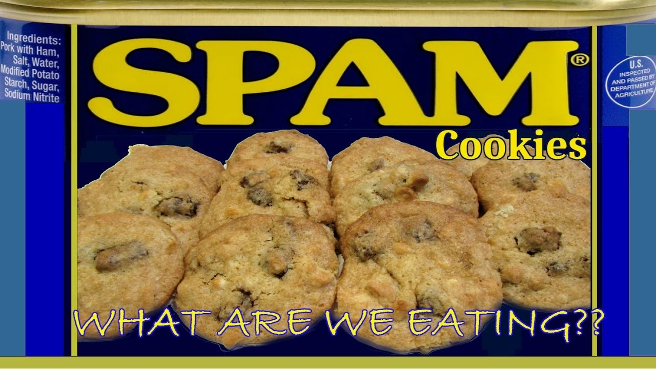 SPAM Cookies?!?! -  WHAT ARE WE EATING?? - How To Make SPAM Cookies - The Wolfe Pit