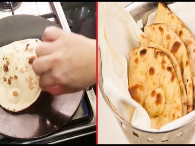 Tandoori roti recipe- How to make tandoori roti on tawa | घर पर ही बनाएँ ढाबा स्टाइल तंदूरी रोटी