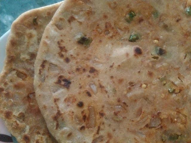 प्याज के परांठे   how to make pyaj ka paratha   onion paratha recipe
