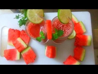 তরমুজের জুস||How to Make Bangladeshi Watermelon Juice||Watermelon Juice Recipe||