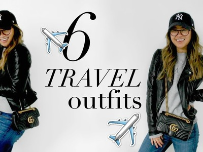 WEEKEND TRAVEL OUTFITS + HOW TO PACK LIGHT | rachspeed