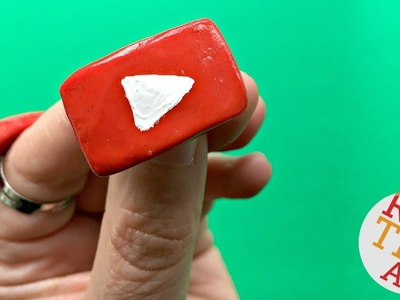 YouTube Play Button RING DIY - Easy How to Make a Ring DIY