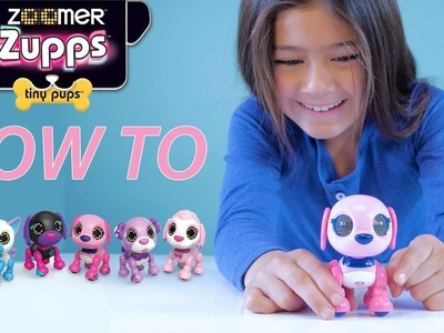 Zoomer Zupps Tiny Pups - How To